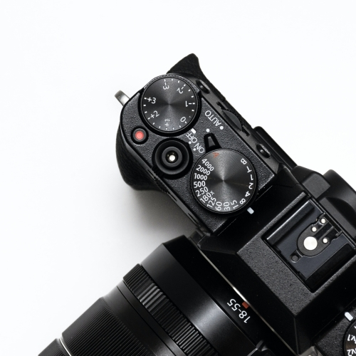 Image of camera that links to equipment rental services.